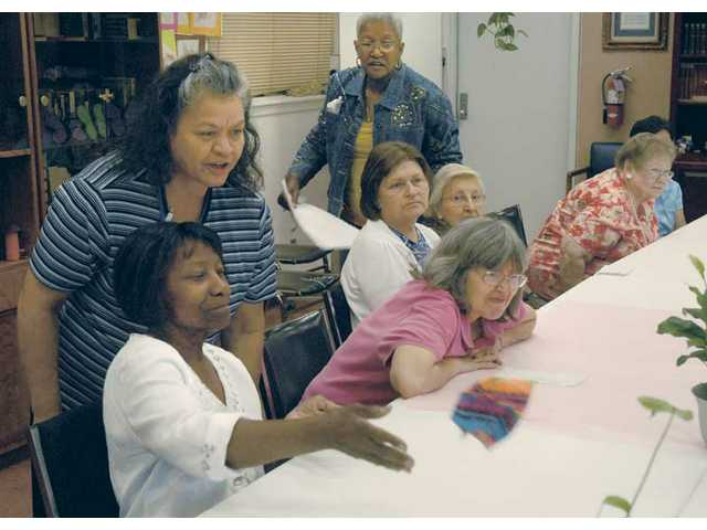 Cutting care: SCV Senior Center