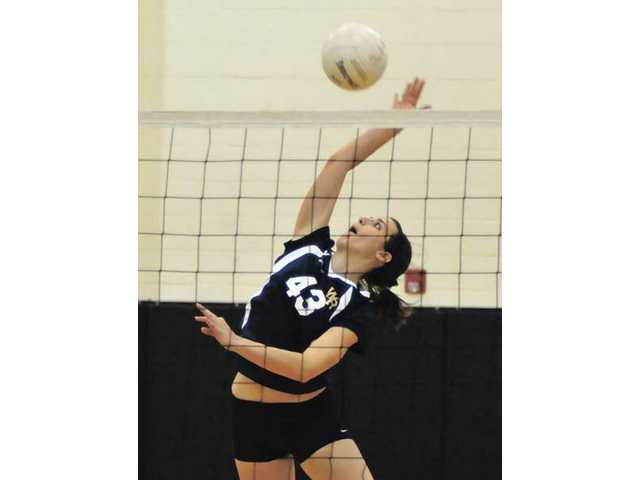 V-ball players share success