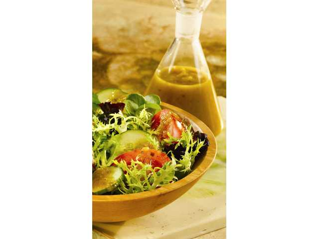 Salsa Verde Vinaigrette