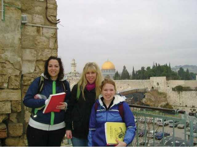 Master's College students study in Israel