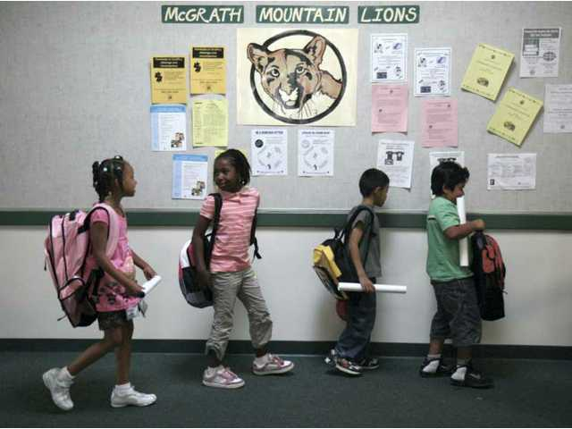 Back-to-school time for the Santa Clarita Valley