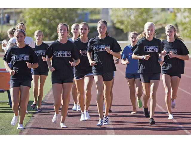 Saugus pushes the pace