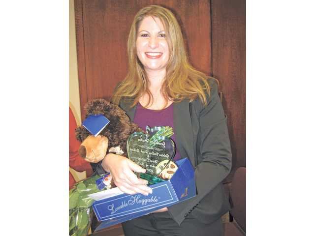 Huhn named Hart's teacher of the year
