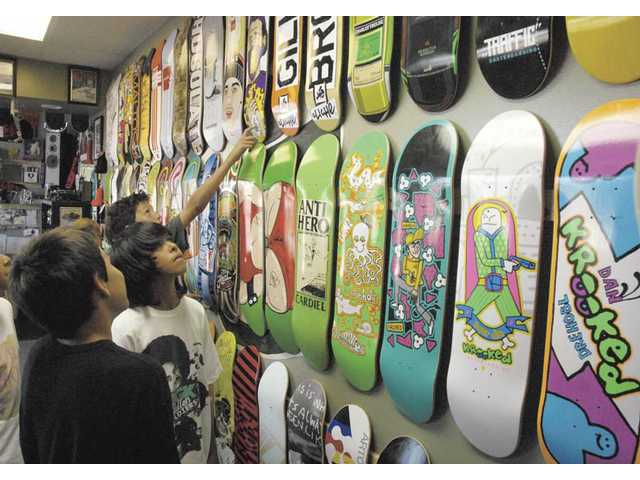 On a roll: Push X-Change Skate Shop