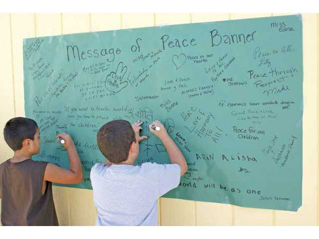 International Peace Day: Canyon Vista Children's Academy