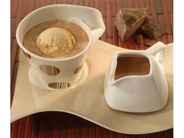 Decadent Hot Chocolate Affogato