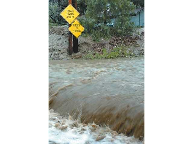 Storm Hits Newhall Hardest in SCV