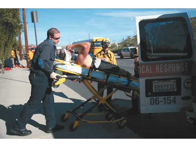 Two Bikers Hurt in Soledad Crash
