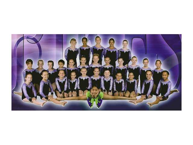 Local gymnastics troupe competes this month