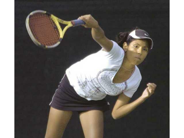 West Ranch tennis: more progress