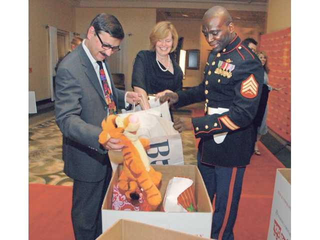 Marines' Toys for Tots campaign gets toys from local business