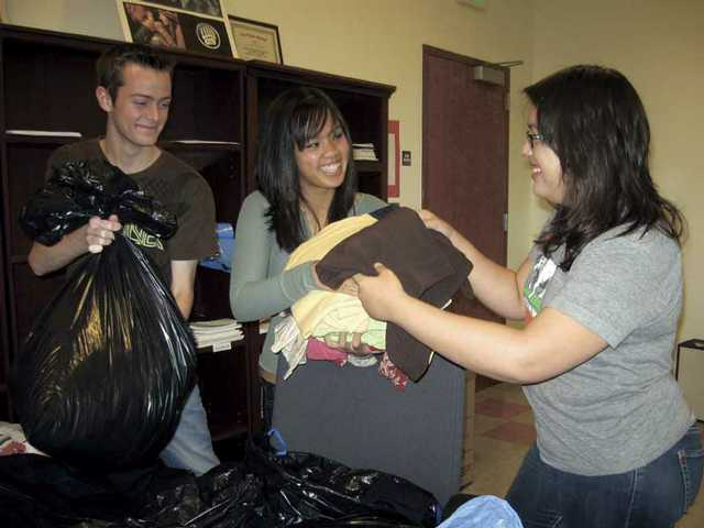 One-day drive nets 1,500 pounds of clothes
