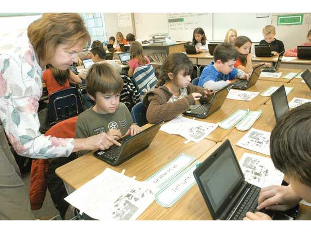 Fourth-graders go digital