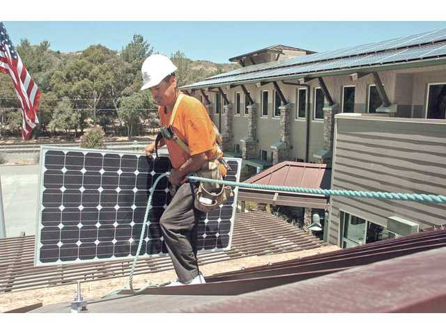 Newhall County Water District's solar powered offices