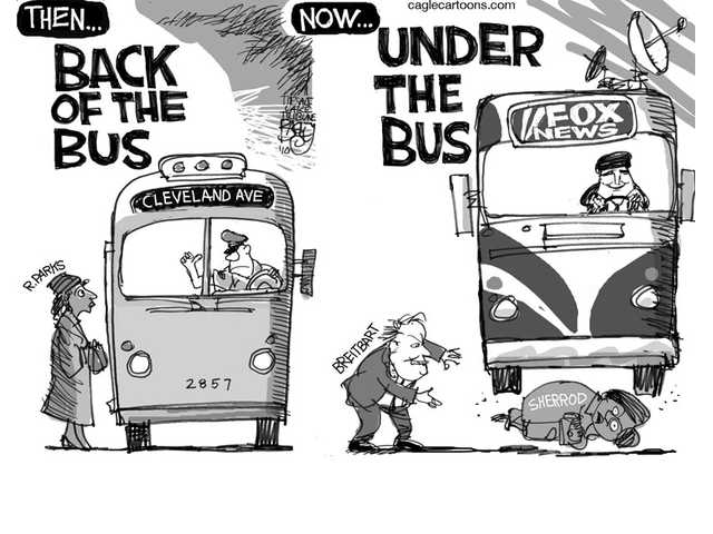 Under the bus