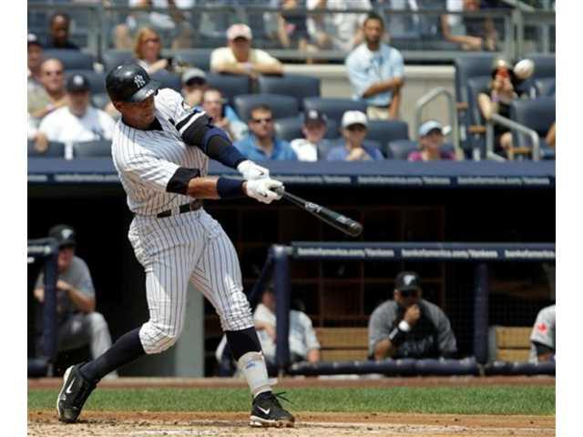 Alex Rodriguez hits home run No. 600