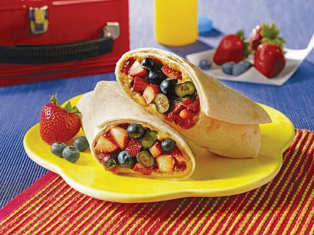 School lunches, all wrapped up