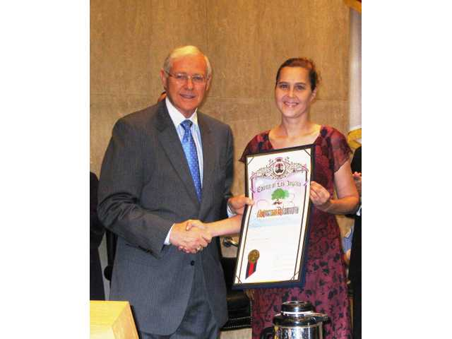 Castaic local honored as national 'Volunteer of the Year'