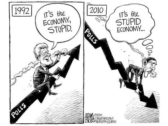 It's the economy