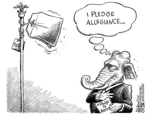 'I pledge allegiance'