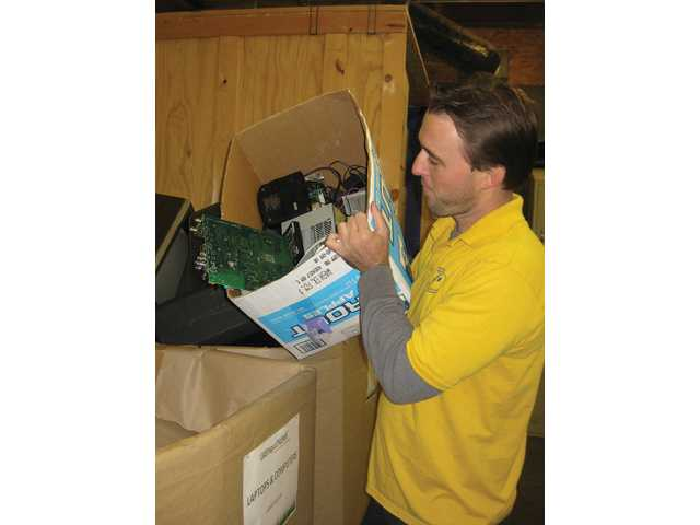 E-waste ejection