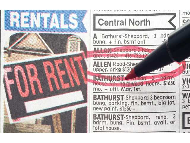 Local apartment rent up 1 percent in quarter