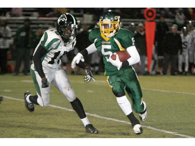 Prep football: Another Canyon return