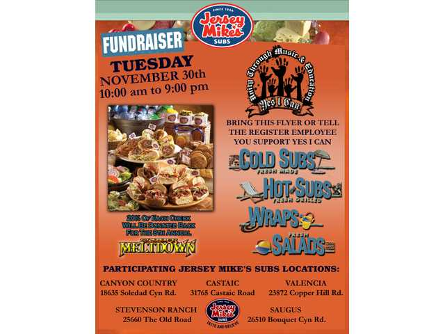 Jersey Mike's throws fundraiser for Summer Meltdown Nov. 30