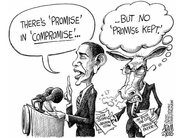 'Promise' in 'compromise'