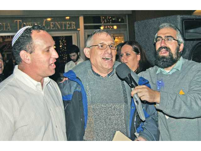The  Jewish Festival of Lights at Westfield Valencia Town Center