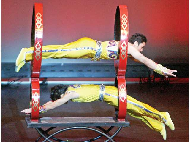Flight and finesse in acrobatic performance for schoolchildren