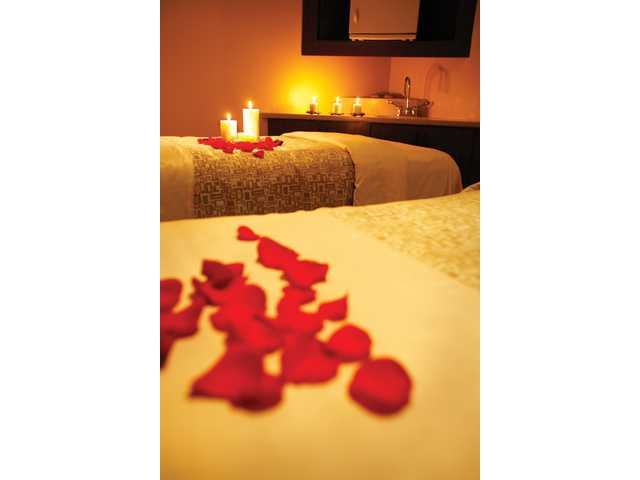 Pamper your valentine