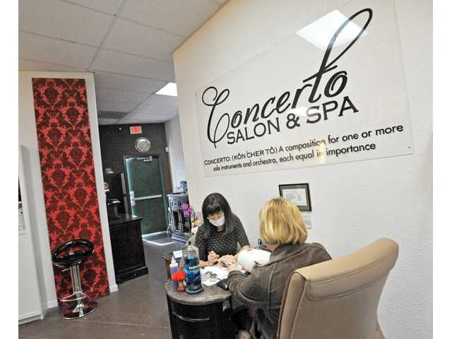 Concerto Salon gets TV makeover