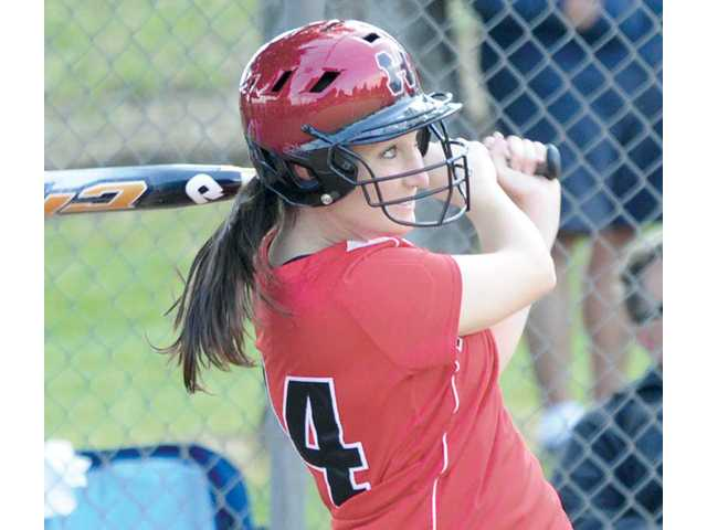 Foothill League softball: Indians share their burden