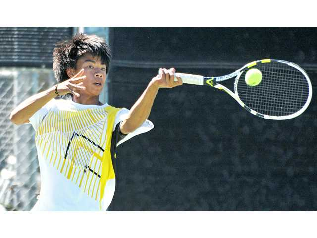 Foothill League boys tennis: Valencia caps perfection