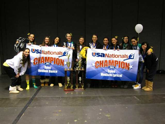Canyon Dance Team wins 2 national titles