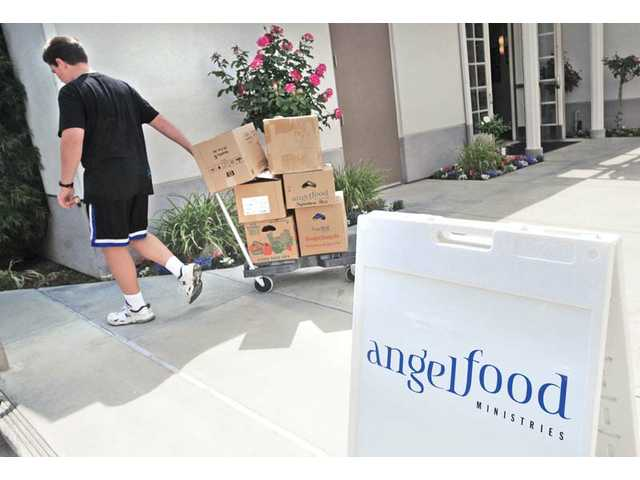 SCV families find food for less