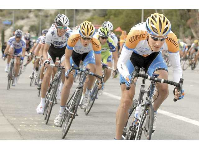 Amgen Tour of California rolls through SCV