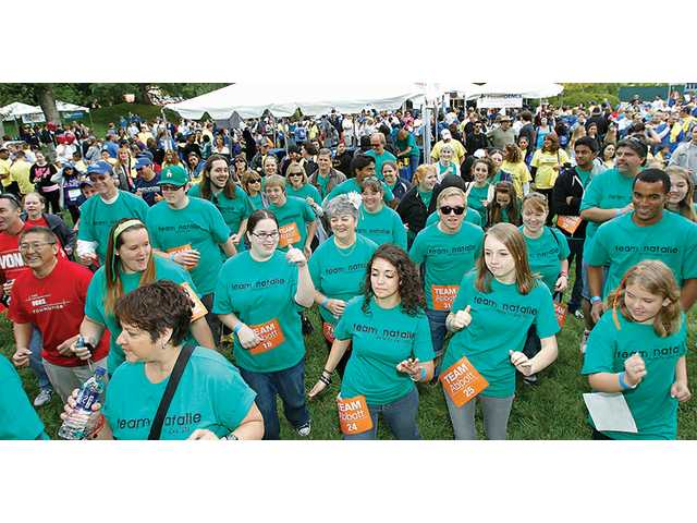 The Let's Move Together Arthritis Walk at Six Flags Magic Mountain
