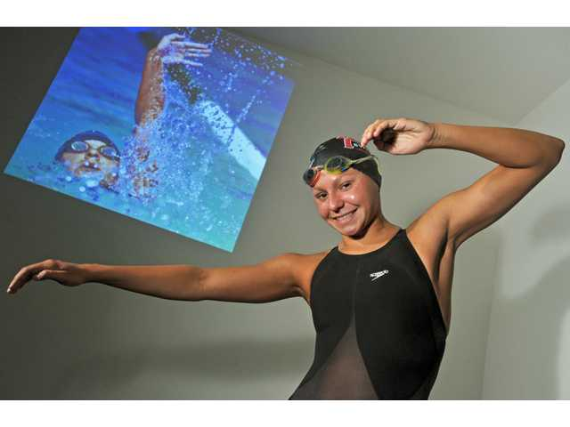 2011 All-SCV Girls Swim Team: Just beginning