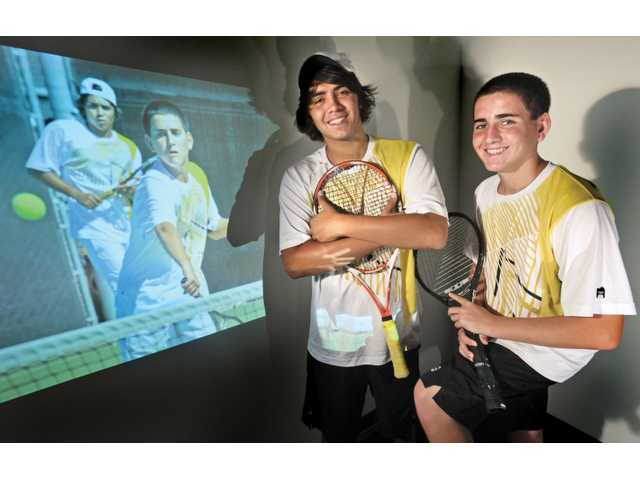 2011 All-SCV Boys Tennis Doubles Team: A pair of aces