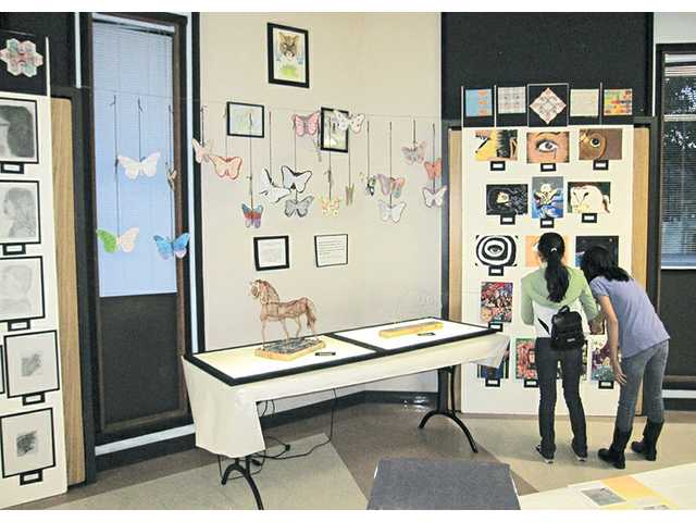 Castaic students display artwork