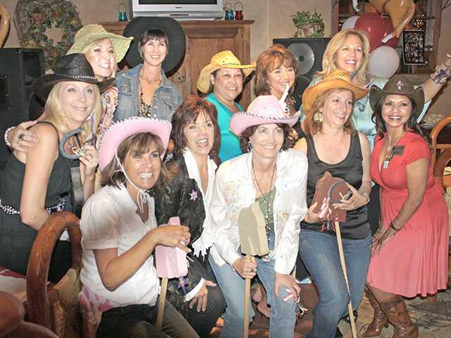 'Cowgirl up' for Soroptimists