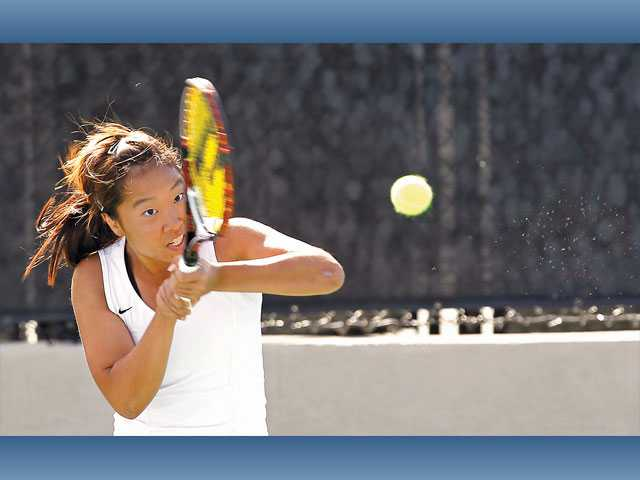 Foothill League girls tennis finals: The gold standard