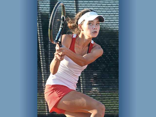 CIF girls tennis: Hart heads to round 1