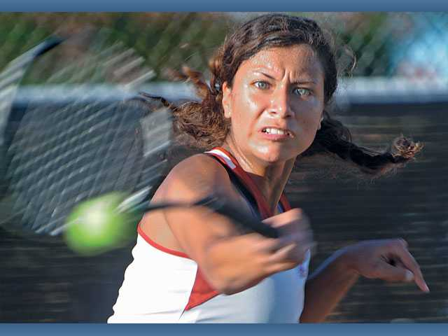 CIF girls tennis: Hart's run reaches end
