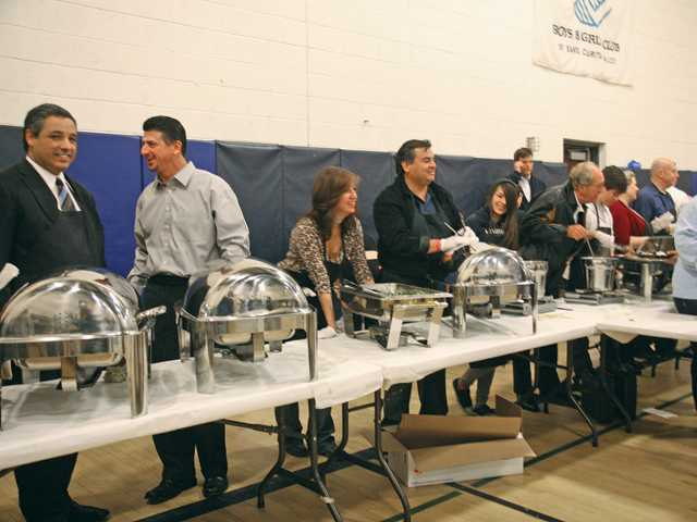 Auto dealers feed families in SCV