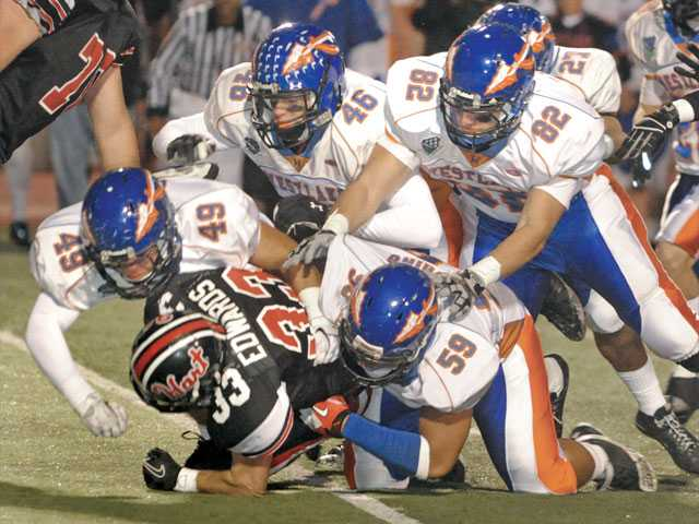 Hart football: Westlake piles on Hart