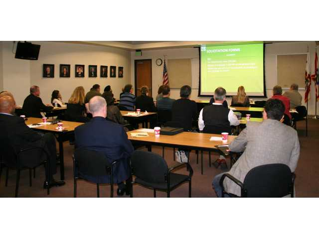 City hosts seminar for businesses