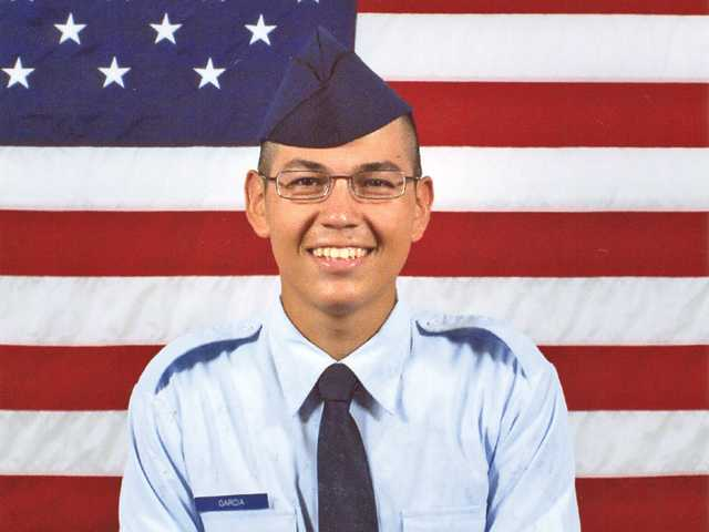 In the service: Joshua L. Garcia